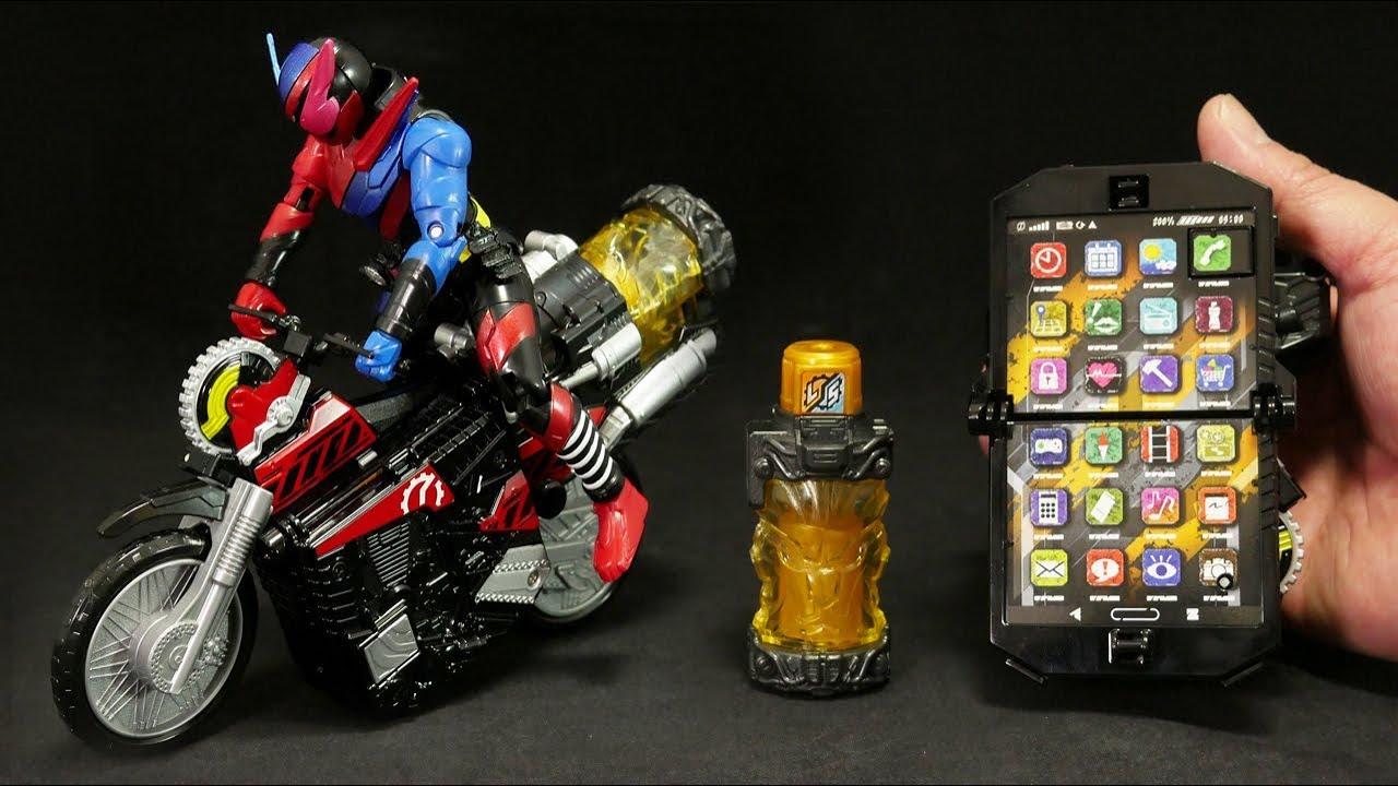 Це відео недоступне.                         仮面ライダービルド バイク変形 DXビルドフォン ライオンフルボトル付 Kamen Rider Build DX Build phone with Lion fullbottle