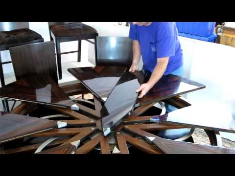 The Round Expanding Table to End All Round Expanding Tables: The Fletcher Capstan Design
