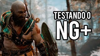 God of War 4 - Testando Novidades do New Game Plus (NG+)