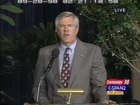 Gov. Gary Johnson New Mexico Gubernatorial Debate 9/28/1998