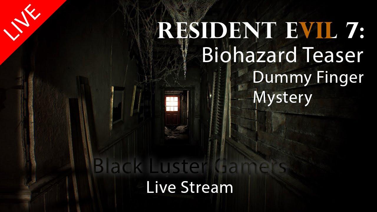 Resident Evil 7 Dummy Finger