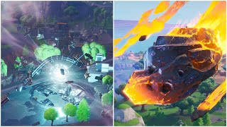 Deal Damage While Being Affected By Low Gravity (Both Locations) - Fortnite (BlockBuster Challenge)