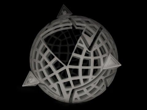 Spheramid 3D Printed Puzzle