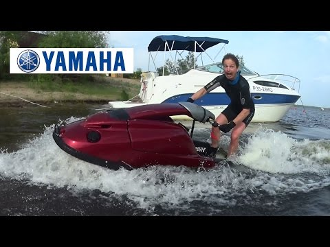 Тест драйв лютой стоячки! Гидроцикл Yamaha Super Jet  700.