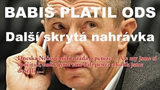 Premiér Andrej Babiš sponzoroval ODS - NOVÁ skrytá nahrávka Andreje Babiše - FAU Přerov - Nadávky