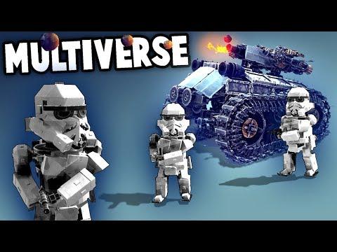 NEW Besiege MULTIPLAYER!  Multiverse BEST Creations (Besiege Multiverse Multiplayer Creations!)