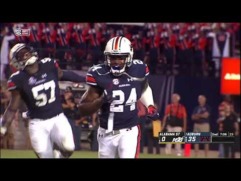 Van Riggs - Auburn Football vs Alabama State Highlights