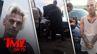 Aaron Carter Had A Run-In With Cops Hours Before DUI Refusal Arrest | TMZ TV