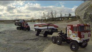Rc Cwr - 6x6 Losi Trail Trekker River Run