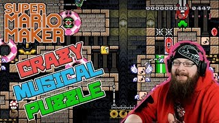 CRAZY MUSICAL PUZZLE - Super Mario Maker - Also some epic music levels from Ren!