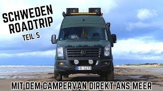 Schweden Roadtrip Teil 5 // Fängt Dominik endlich einen Fisch? 🎣 Mit dem Van direkt ans Meer! 🔥