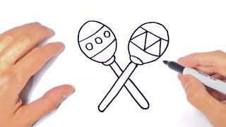 Download Cómo Dibujar Unas Maracas Paso A Paso Dibujo Fácil De