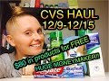 CVS HAUL 12/9/18-12/15/18 ~ $80 in products for FREE!!!!