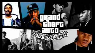 GTA SA theme song(Remix) ft. Eminem, snoop dogg, jay-z, fort minor, busta ryhmes, chamillionaire