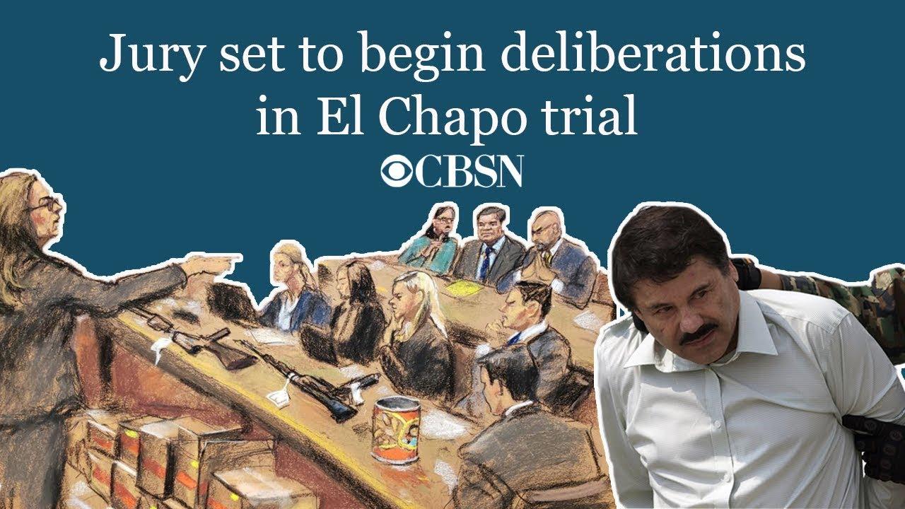 CBSN: Jury set to begin deliberations in El Chapo trial