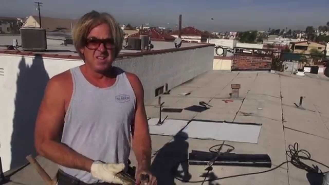Diy How To Install Pipe Flashing On A Flat Roof Repair