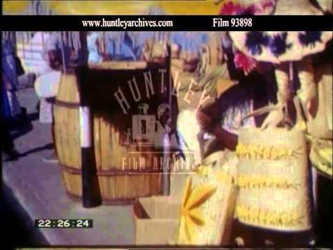 Nassau Market, 1960's - Film 93898