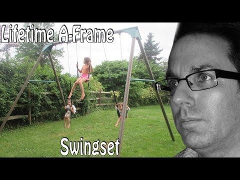 BYBI: Lifetime A-Frame Swingset