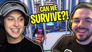 PUZZLE ESCAPE!! (CREATIVE MODE) MAZE MAP: FORTNITE CHALLENGE w/ CourageJD!!