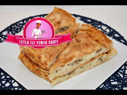Kolay Kıymalı Börek Tarifi - Hackfleisch Börek mit fertigem Yufka Teig