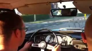 Willem-Jan rijdt met Glas GT 1300