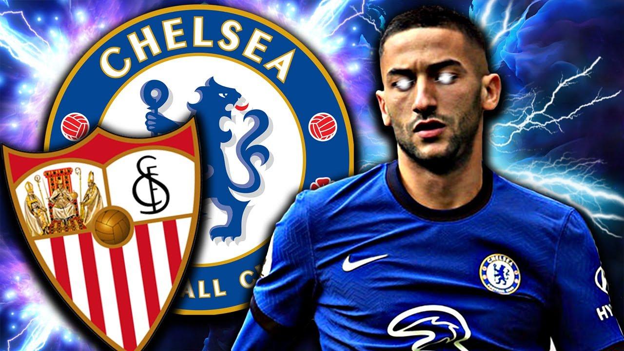 Hakim Ziyech to DEMOLISH Sevilla In The Champions League? Chelsea vs Sevilla Match Preview!