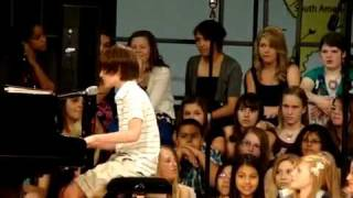 13 year old boy Greyson Michael Chance singing Paparazzi by Lady Gaga [HQ]
