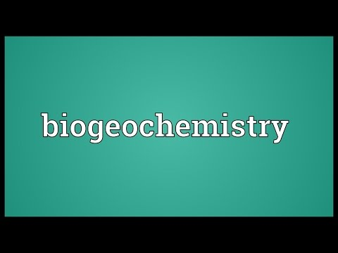 Header of biogeochemistry
