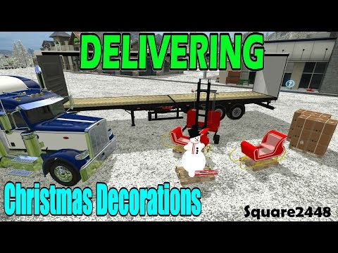 FS17: Delivering Christmas Decorations