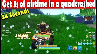 Get 3 seconds of airtime in a quadcrasher - Fortnite Season 9 Week 3 challenges