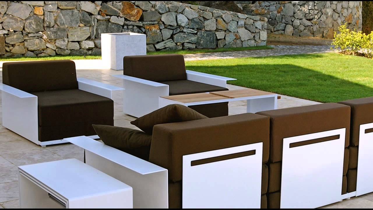 Modern outdoor lounge chair - Modern Outdoor Lounge Furniture