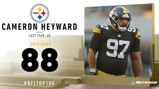 #88: Cameron Heyward (DE, Steelers) | Top 100 Players of 2019 | NFL