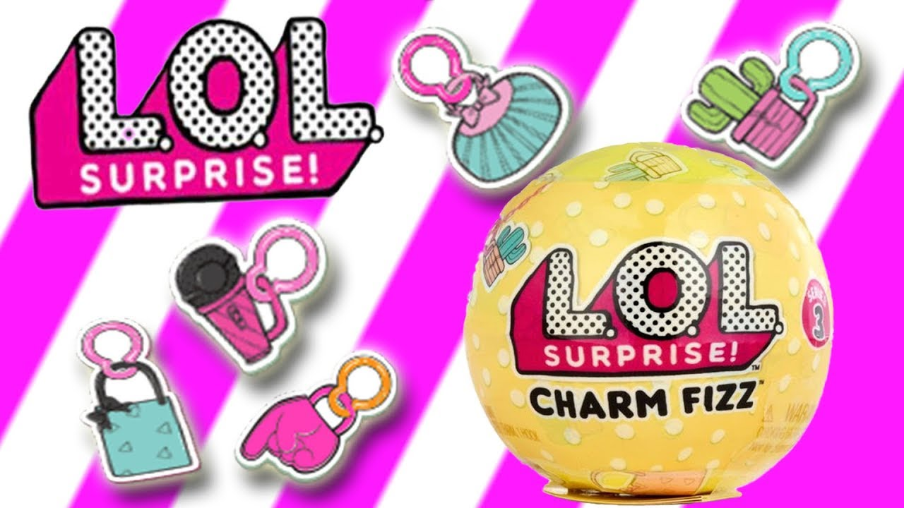 L O L Surprise Charm Fizz Series 3 Fizzy Fun Play Little
