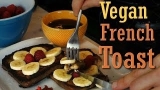Quick Easy Recipe: Vegan French Toast