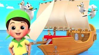 Пиратская Песня   Английские детские стишки   Pirates Song   Russian Nursery Rhymes   Baby Song