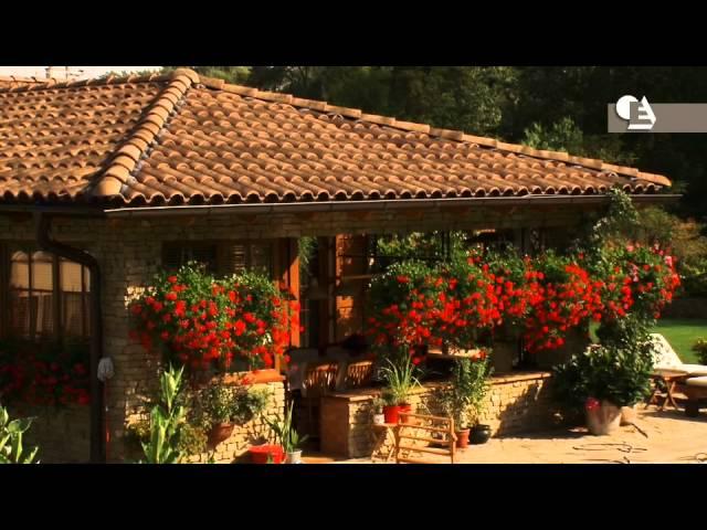 V15 - Casas con tejas mixtas de La Escandella. Réalisations avec tuiles Escandella