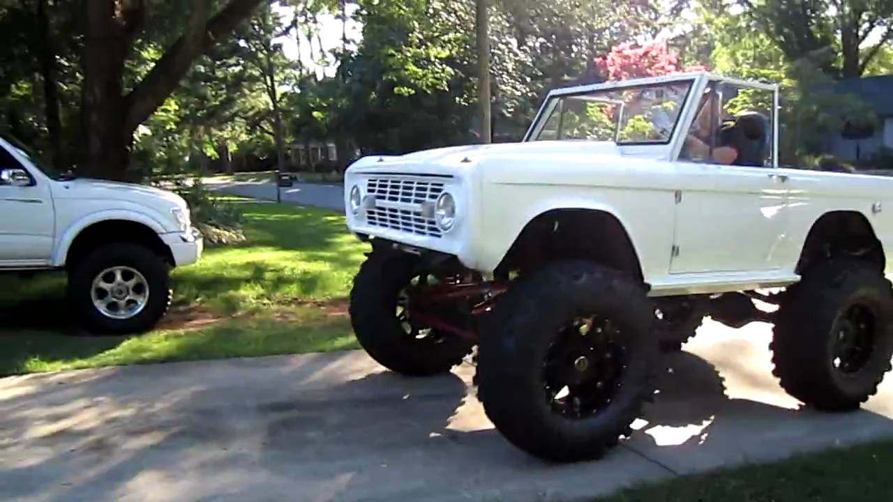 For Sale Kostas 69 Early Bronco Pearl White Youtube