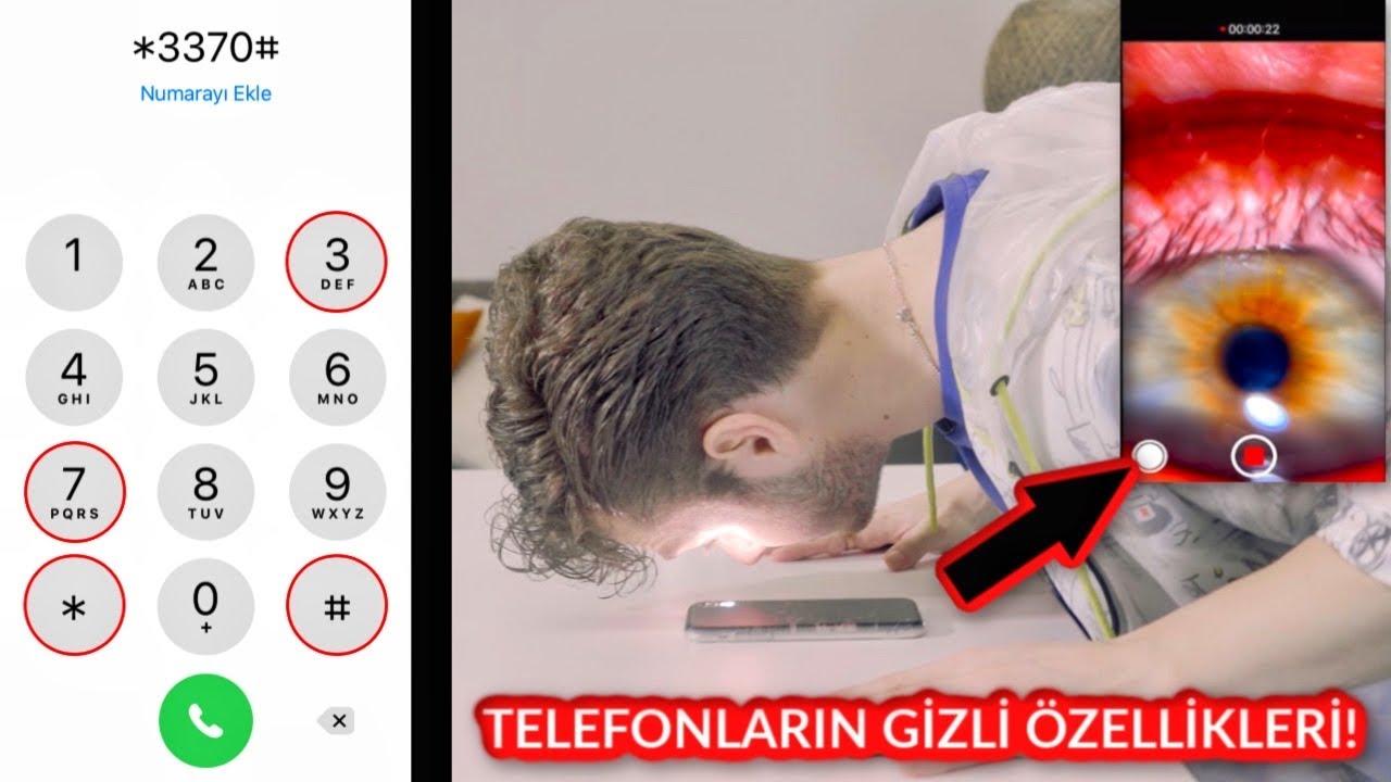 TELEFONLARIN 10 GİZLİ ÖZELLİĞİ (Mikroskop Kamera, Sinyal Arttırıcı, Hızlı Şarj)