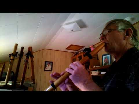Behind Blue Eyes - Native American Flute - Cap'n Kenny