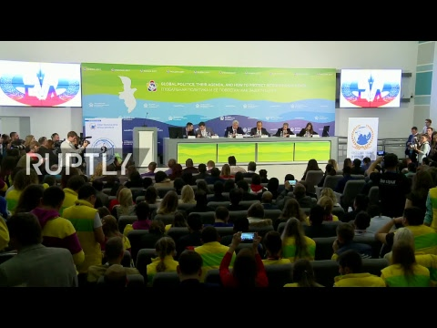LIVE: World Youth and Students Festival : Lavrov participates in panel discussion - ENG