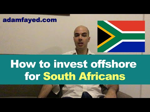 Investing offshore from South Africa + SA expat tax