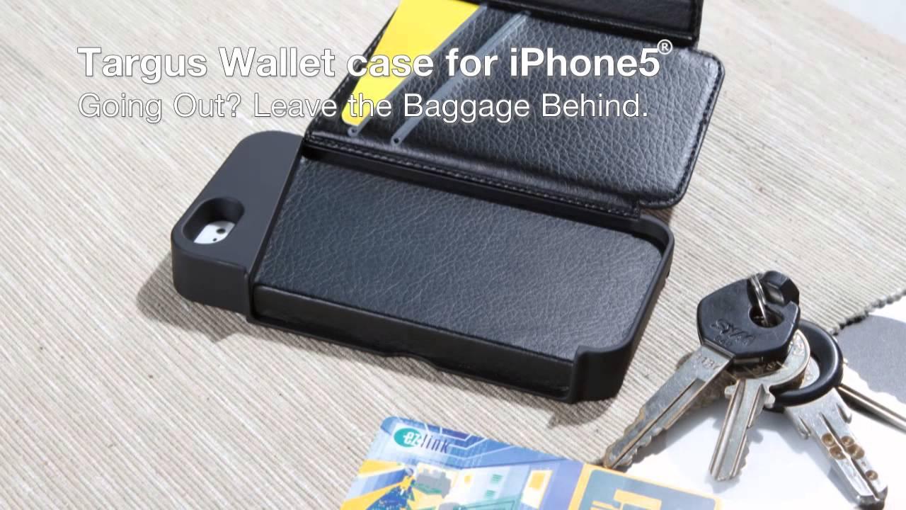 half off 7abda b7acc Targus Wallet Case for iPhone5 (THD022AP)