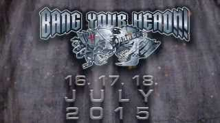 Bang Your Head!!! 2015 Teaser