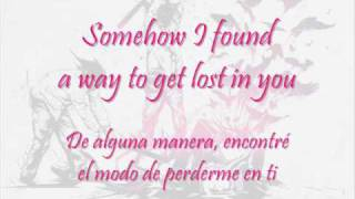 Three Days Grace - Lost in you (letra en inglés y en español)