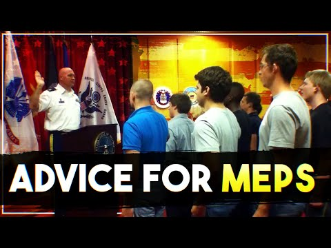 Advice for MEPS | How to Pass MEPS for joining the military