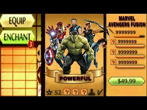 Shadow Fight 2 The Most Powerful Marvel Avengers Fusion