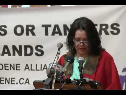 Yinka Dene Alliance Freedom Train Winnipeg News Conference