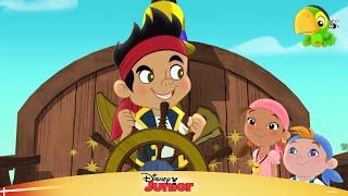 Jake og Piraterne synger: Jolly Roger mod Tumle - Disney Junior Danmark