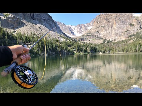 Fly Fishing A Remote Mountain Lake