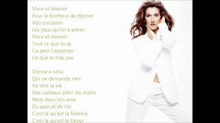 ♫ Vivre et Donner - Céline Dion [LES CHEMINS DE MA MAISON 1983]